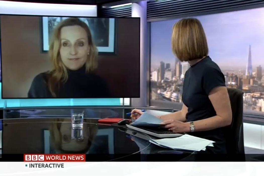 Jessica Joelle Alexander talks to BBC World News