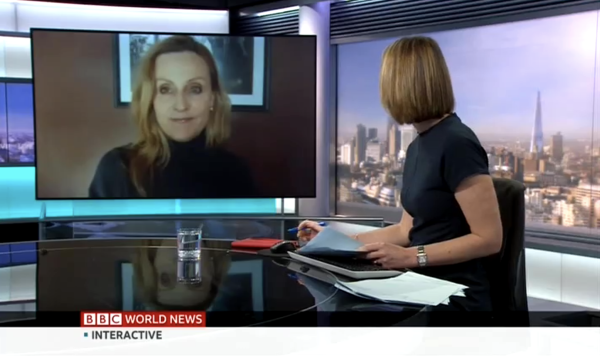 Jessica Joelle Alexander talks to BBC World News